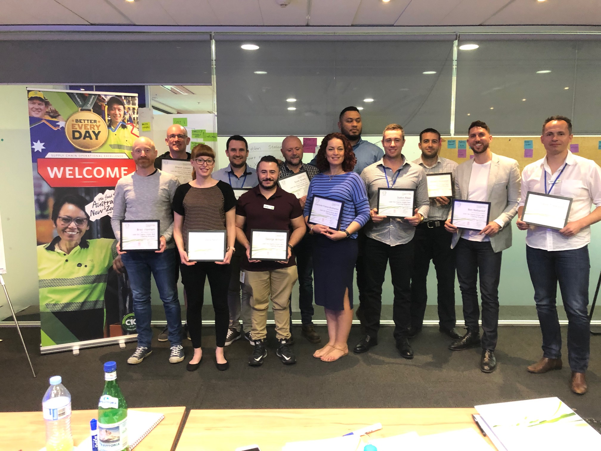Lean Six Sigma Green Belt Training at Woolworths