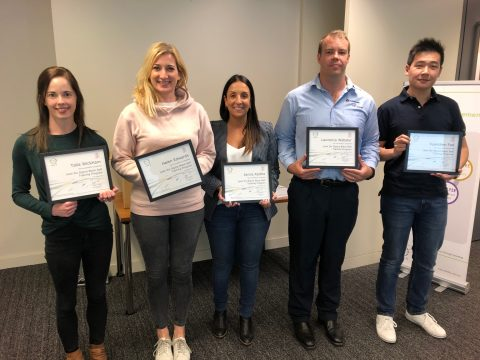 Lean Six Sigma Black Belt Training Graduates